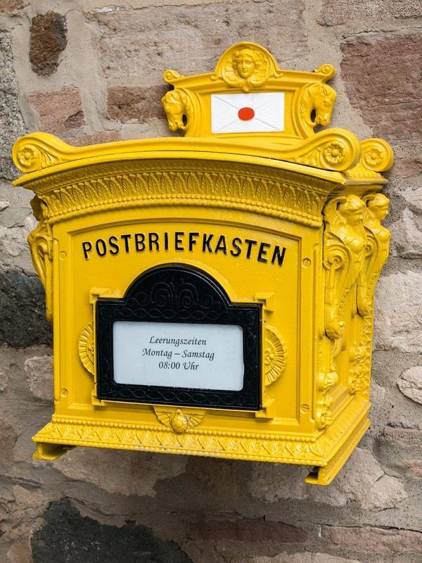 briefkasten deutsch